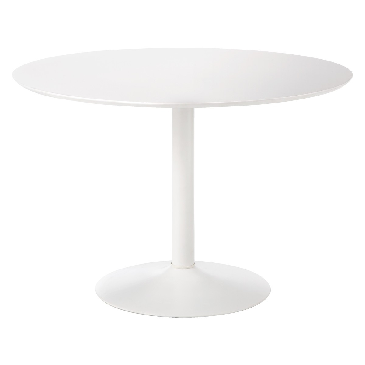 Lance 4 Seater White Round Dining Table (View 11 of 25)