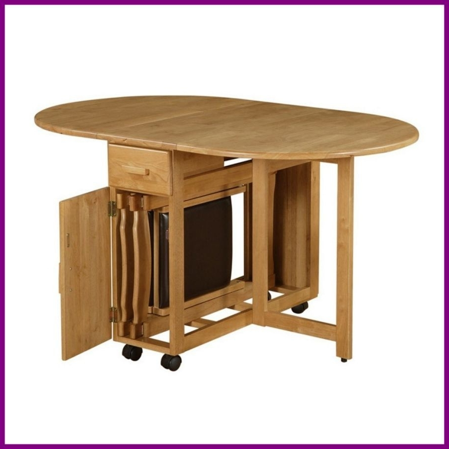Large Folding Dining Tables Regarding Popular Gorgeous Dining Room Furniture Drop Leaf Fold Away Table Ikea Plank (View 9 of 25)