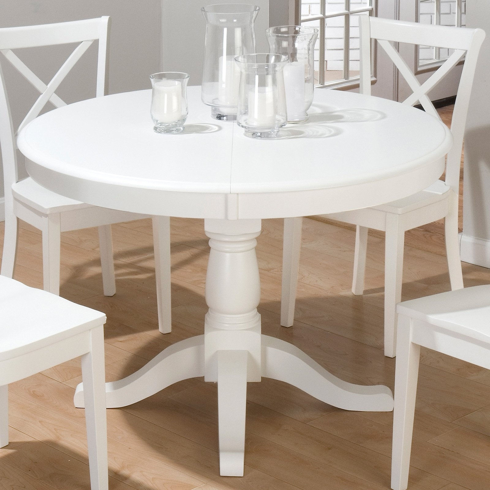 Large White Round Dining Tables For 2017 Round White Dining Tables Table Seats 6 And Chairs For Sale Sets (View 15 of 25)