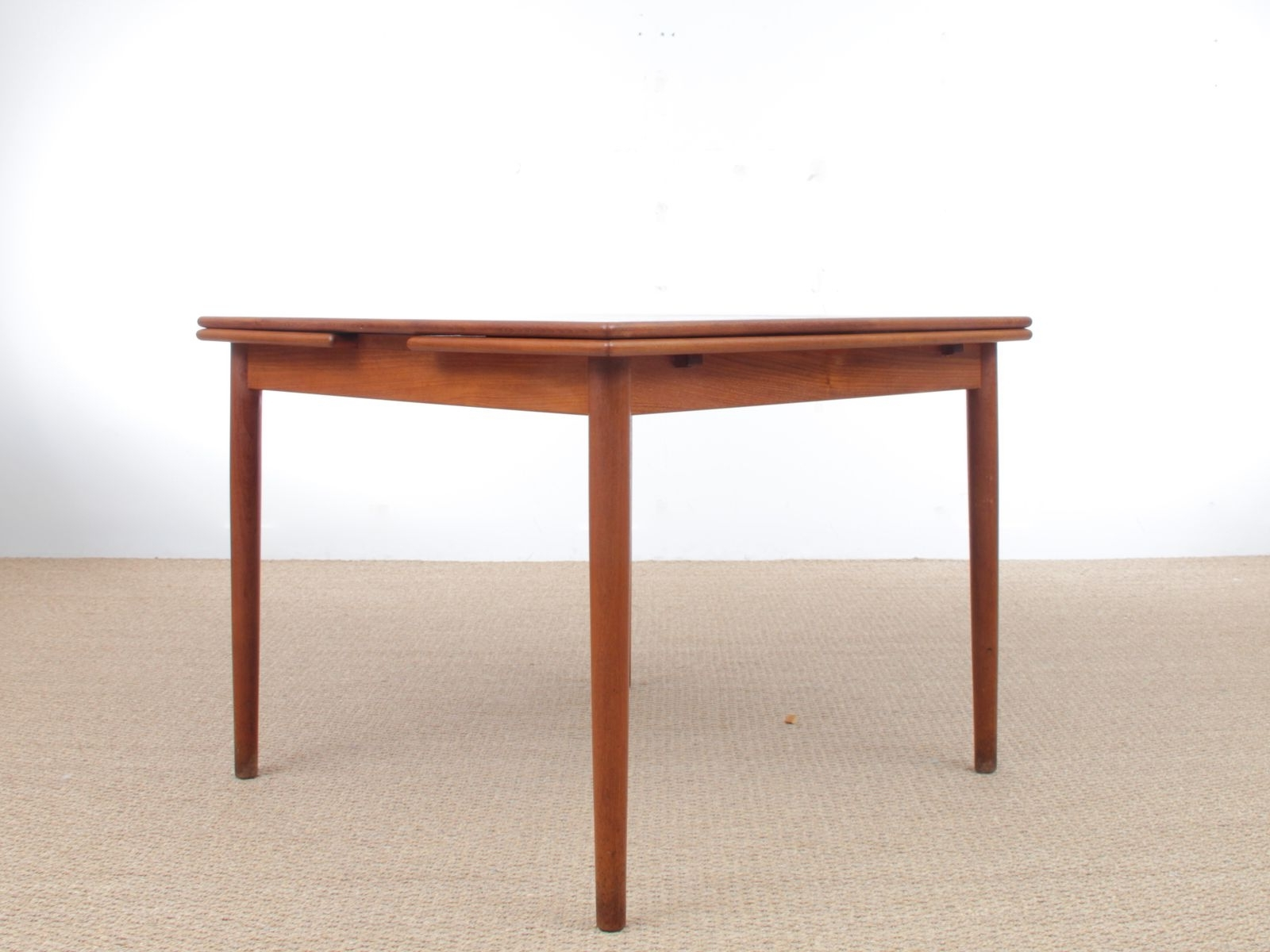 Lassen Extension Rectangle Dining Tables Inside Most Recent Teak Dining Table, 1960S (View 16 of 25)