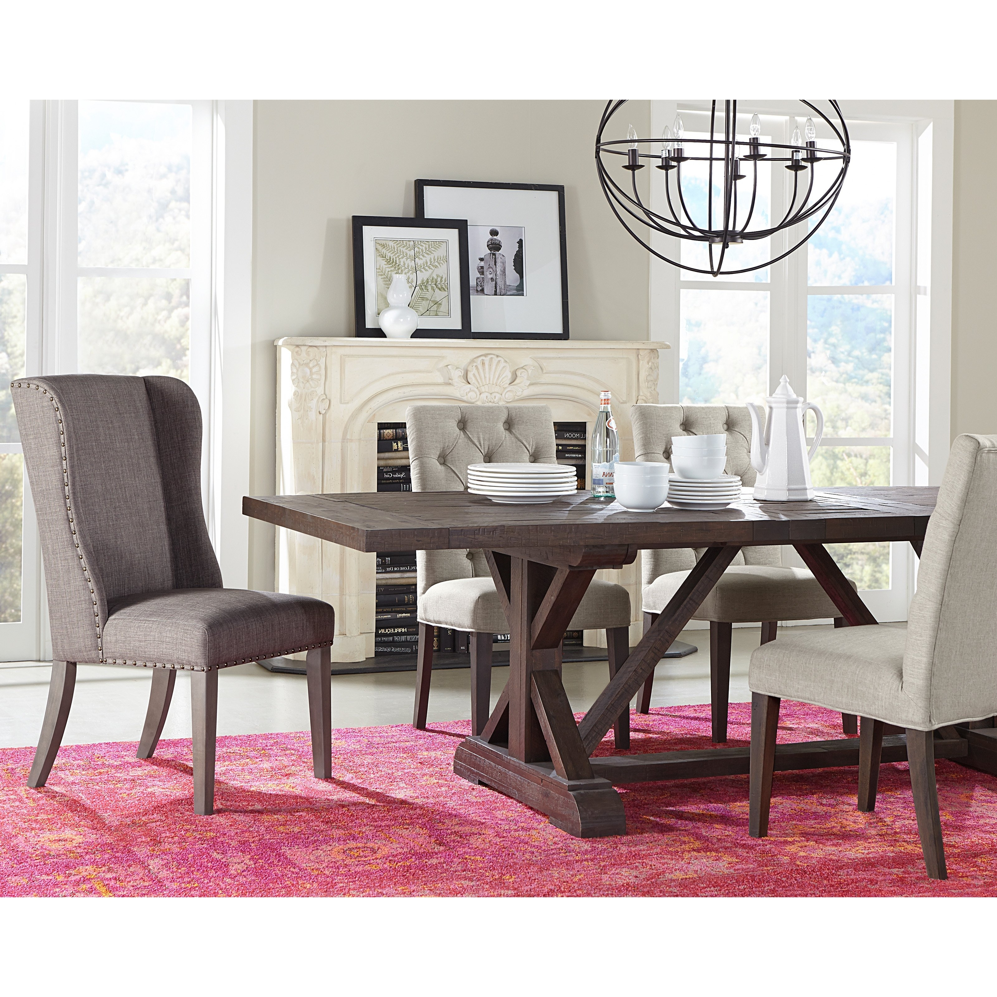 Lassen Extension Rectangle Dining Tables Within Latest Modus Cameron Rectangular Extension Dining Table (View 17 of 25)