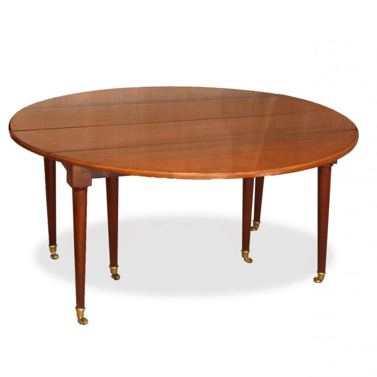 Latest A Louis Xvi Solid Mahogany Extending Dining Table – Ref (View 7 of 25)