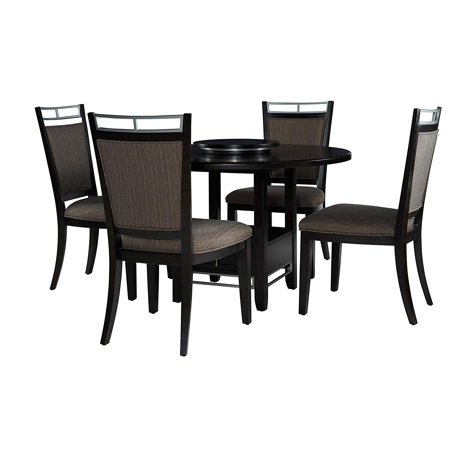 Latest Amazon – Powell Caden 5Pc Dining Set – Table & Chair Sets For Caden Round Dining Tables (View 11 of 25)