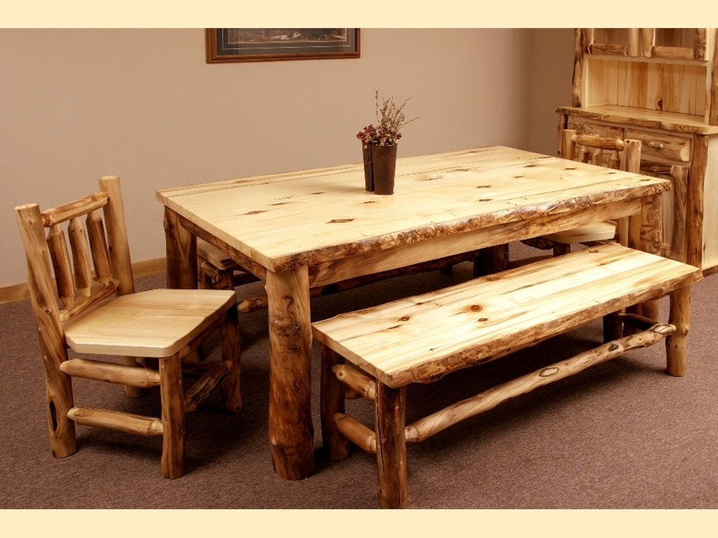Latest Aspen Dining Tables With Aspen Dining Room Furniture – Southern Creek Rustic Furnishings (View 16 of 25)