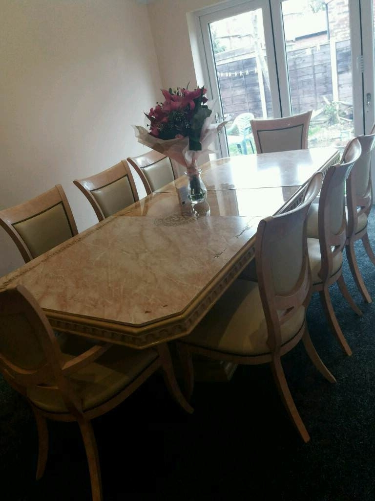 Latest Cheap 8 Seater Dining Tables With Cheap 8 Seater Dining Table With Chairs (View 13 of 25)