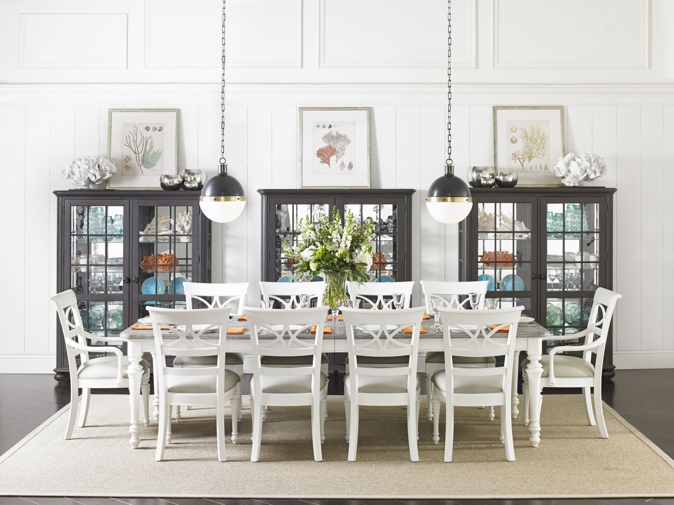 Latest Coastal Dining Room Chairs – Domainmichael Inside Coastal Dining Tables (View 22 of 25)
