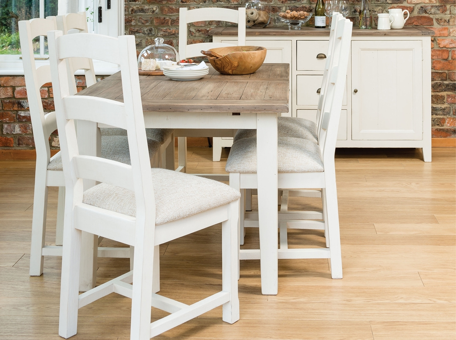Latest Country Dining Tables For French Country 140Cm Extending Dining Table From Dansk (View 13 of 25)