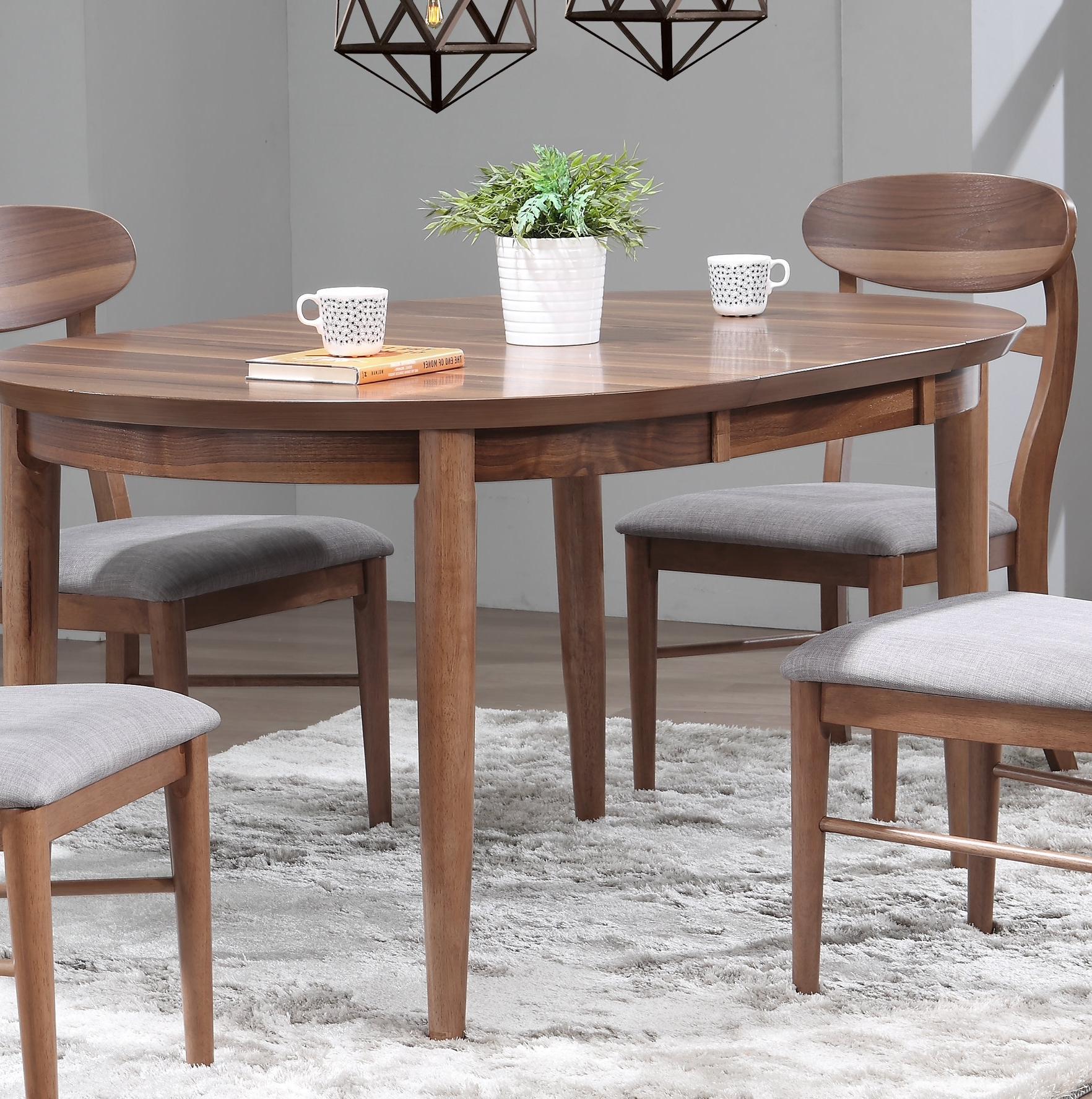 Latest Extendable Dining Sets With Regard To Chau Extendable Dining Table (View 14 of 25)
