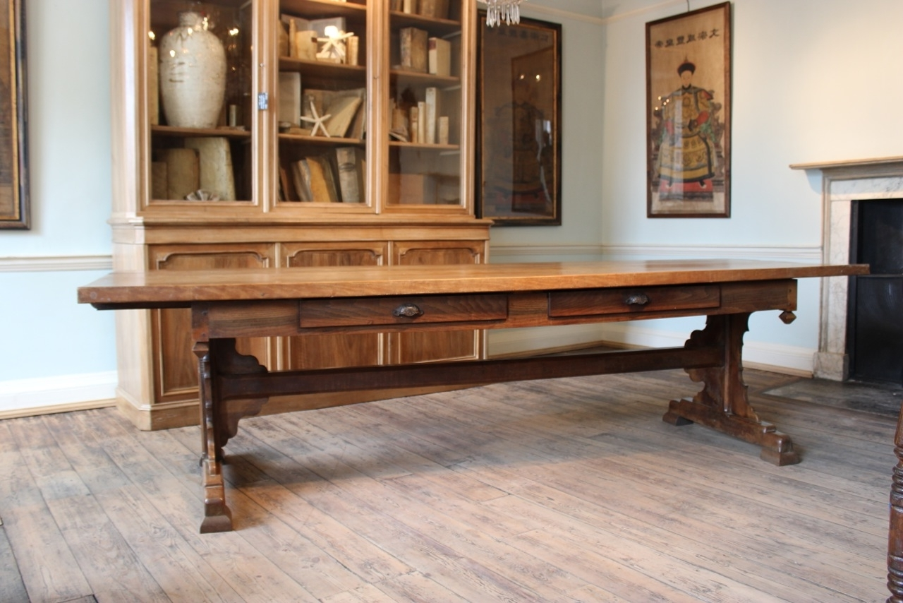 Latest French Farmhouse Dining Tables Pertaining To Superb 19Th Century French Farmhouse Dining Table – Dining Tables (View 5 of 25)