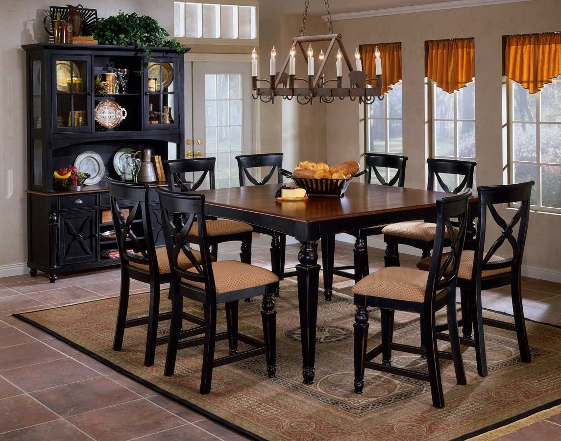 Latest Hillsdale Northern Heights Non Swivel Wood Counter Stools 4439 822W Pertaining To Non Wood Dining Tables (View 10 of 25)