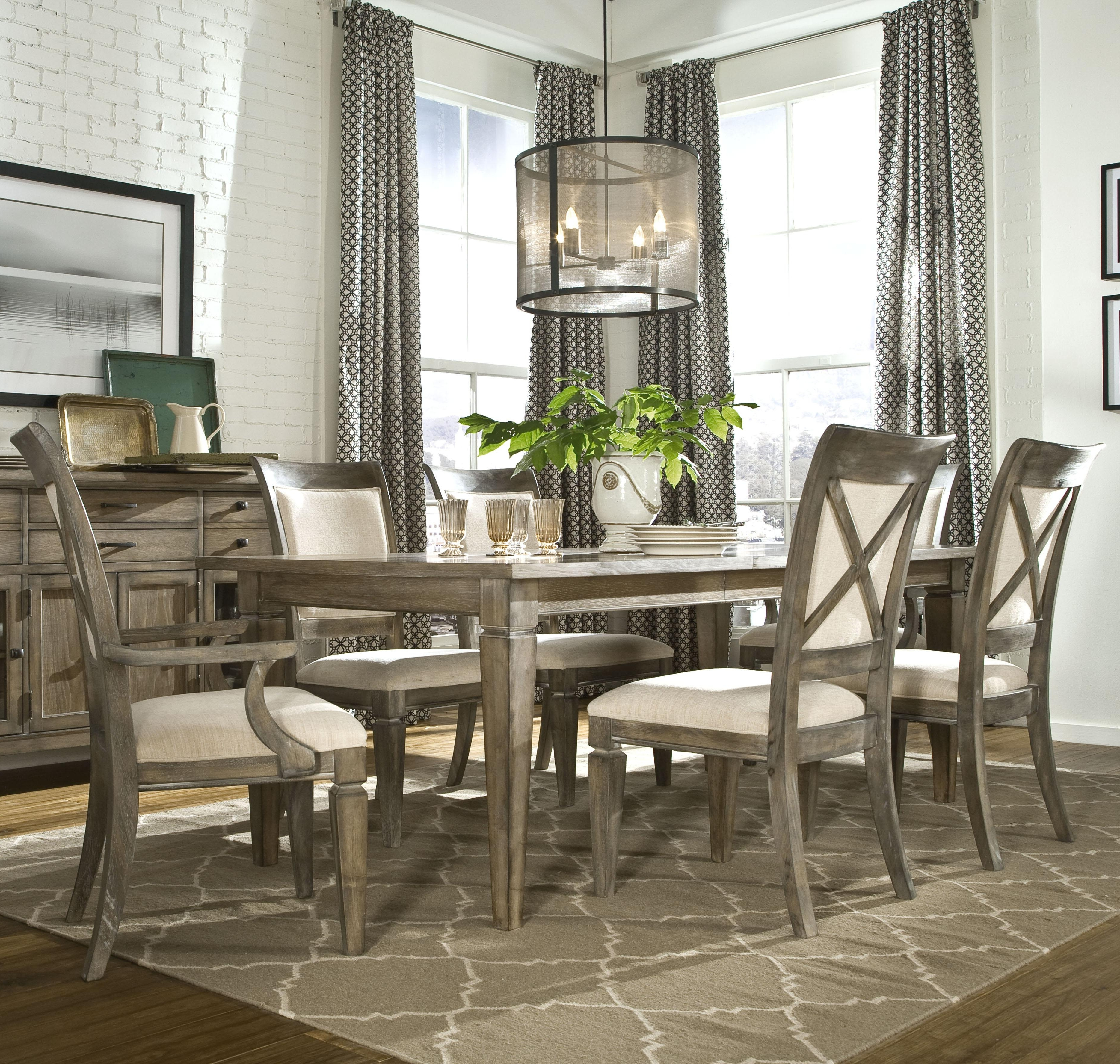 Latest Jaxon Grey 7 Piece Rectangle Extension Dining Sets With Wood Chairs For Kitchen Dinette Sets 7 Piece Dining Set Cheap 7 Piece Counter Height (View 11 of 25)
