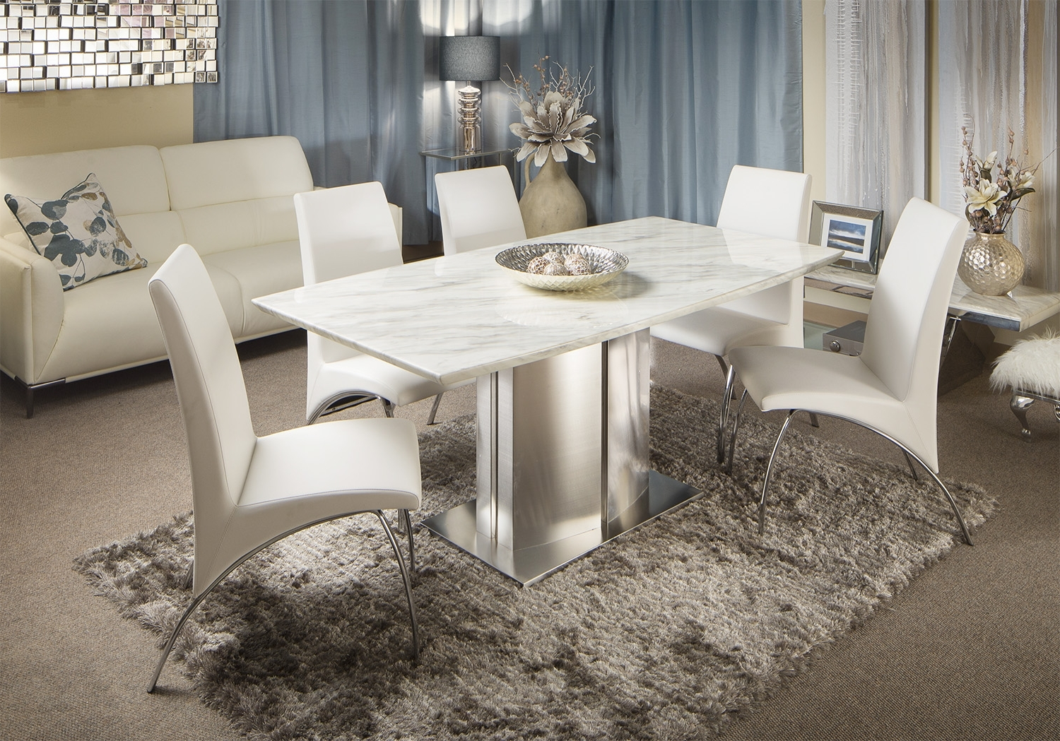 Latest Modern Dining Suites Regarding Dining Furniture (View 9 of 25)