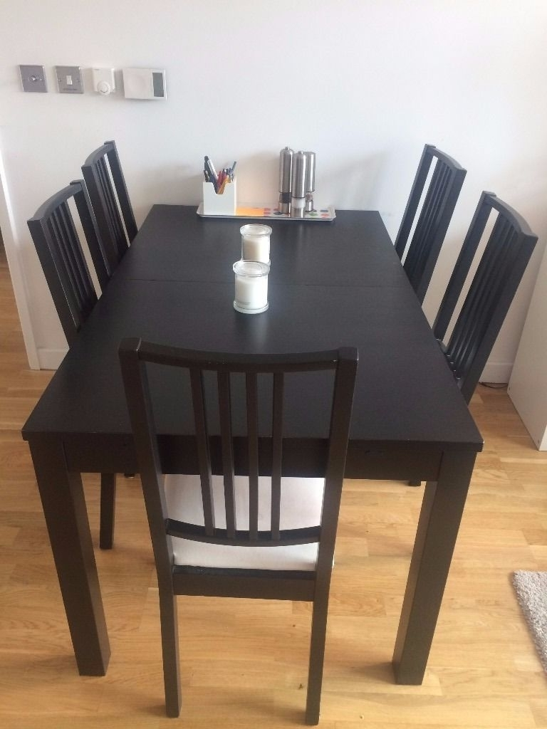 Latest Needs To Go: Extendable Dining Table + 6 Chairs – Ikea Börje/bjursta With Wooden Dining Tables And 6 Chairs (View 4 of 25)