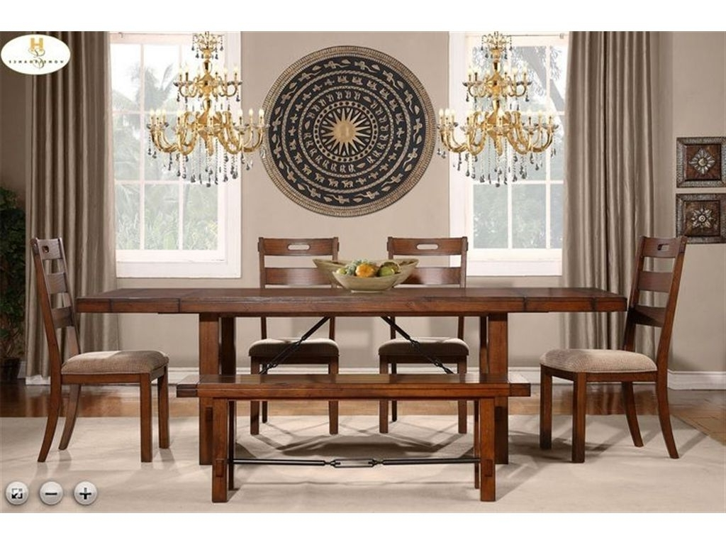 Latest Norwood 7 Piece Rectangle Extension Dining Sets With Regard To Homelegance Dining Table 2515  (View 9 of 25)
