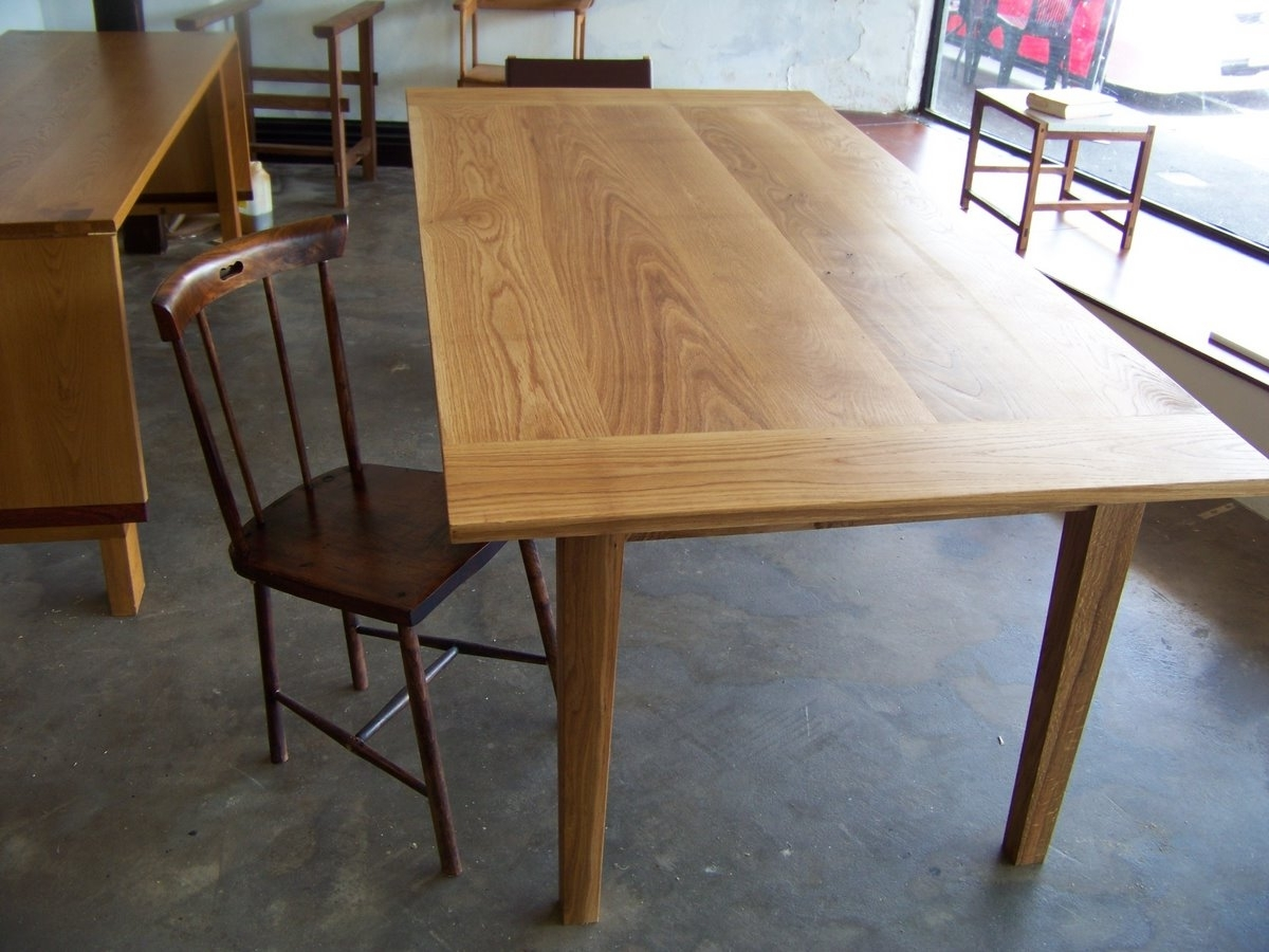 Latest Oak Dining Furniture Within Oak Dining Table (View 22 of 25)