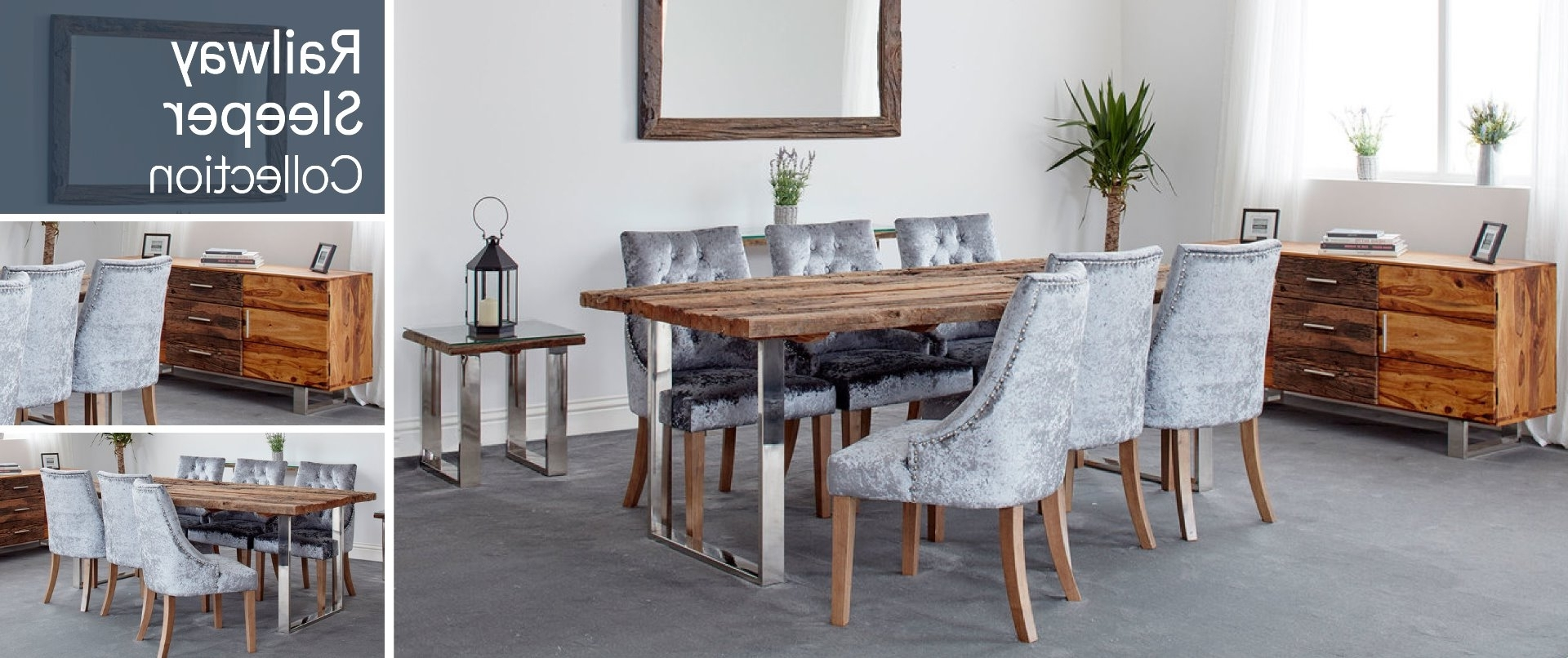 Latest Railway Sleeper With Railway Dining Tables (View 9 of 25)