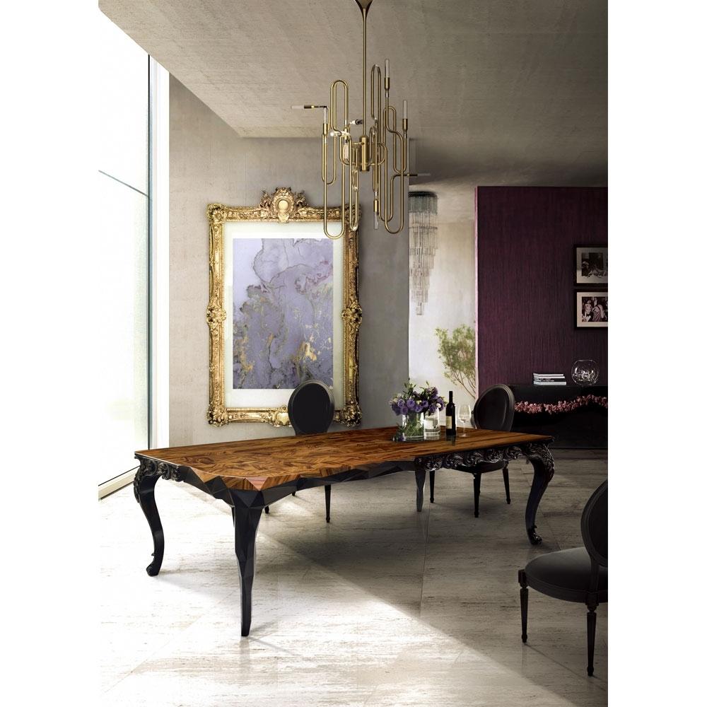 Latest Royal Dining Tables Regarding Boca Do Lobo Royal Dining Table – Ilite (View 6 of 25)