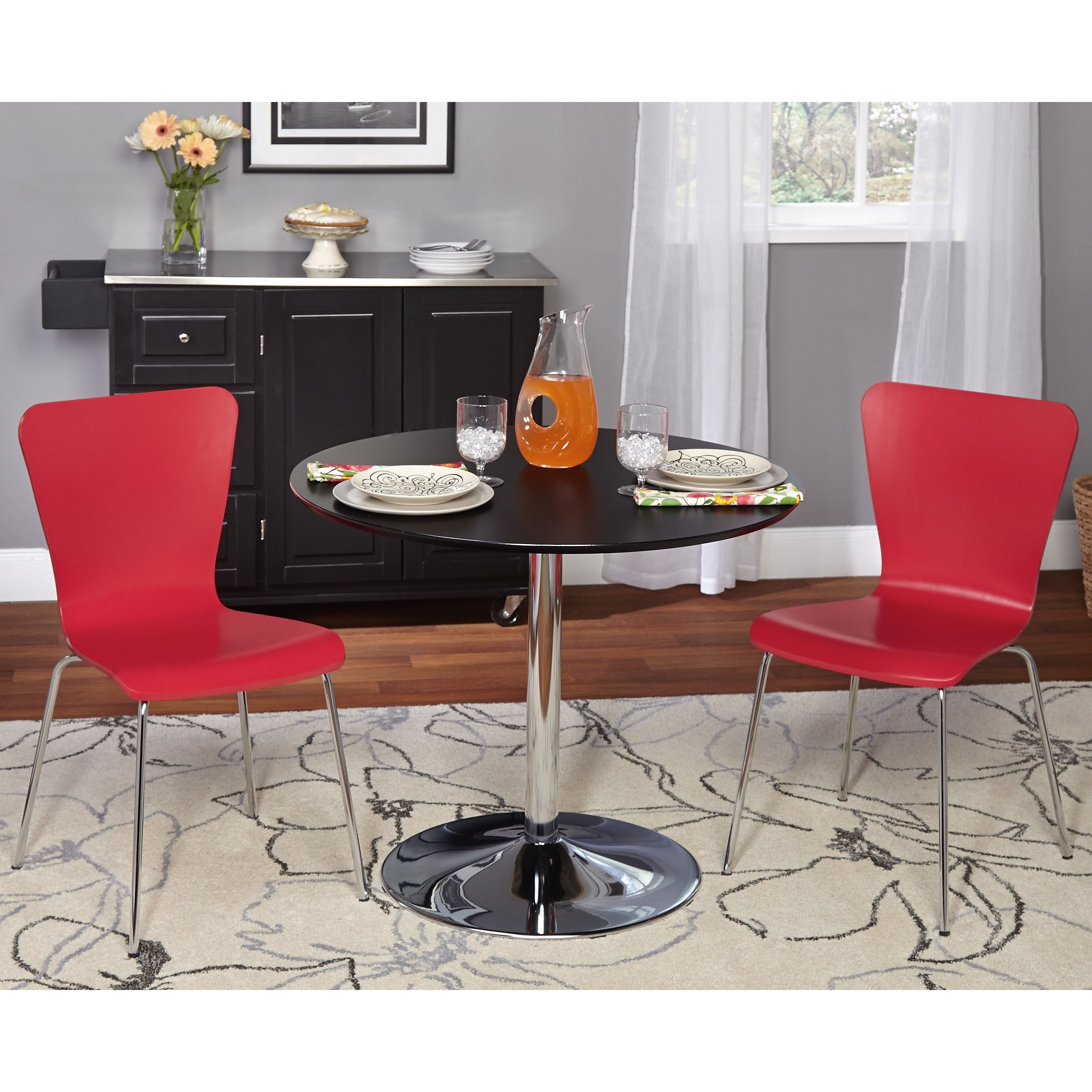 Latest Shop Simple Living 3 Piece Pisa Dining Set – Free Shipping Today Intended For Pisa Dining Tables (View 5 of 25)