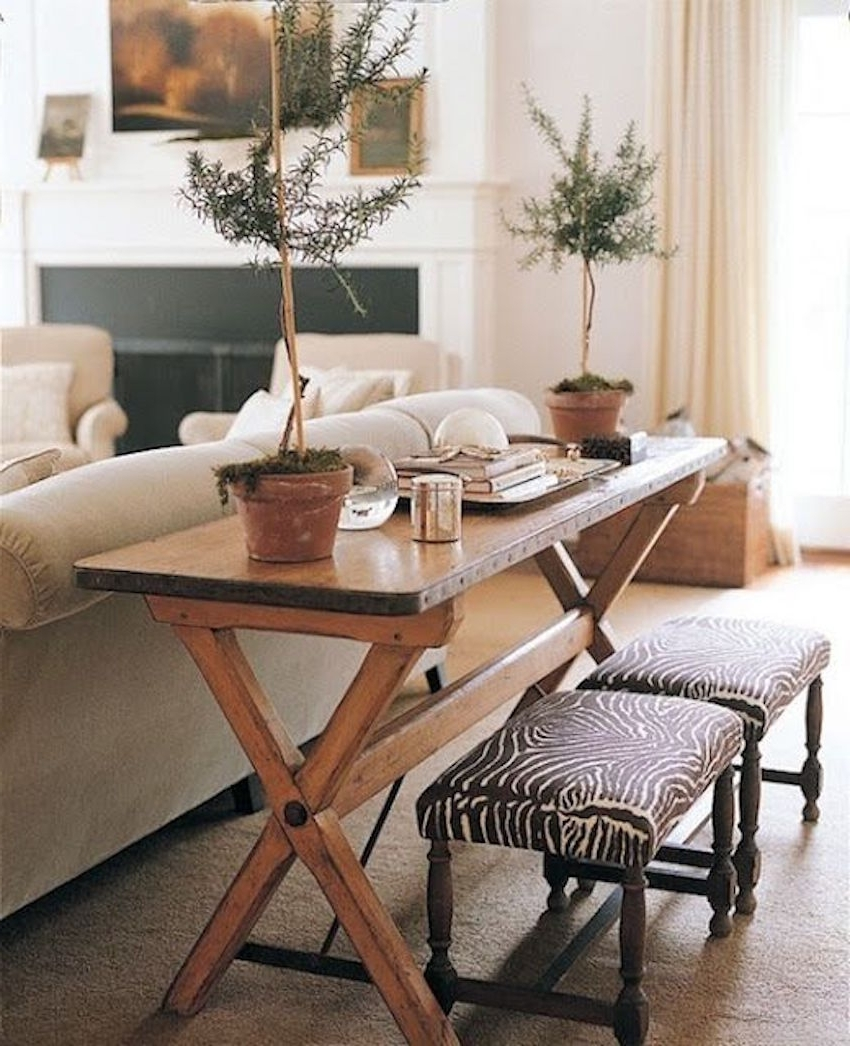 Latest Small Dining Tables In 10 Narrow Dining Tables For A Small Dining Room (View 21 of 25)