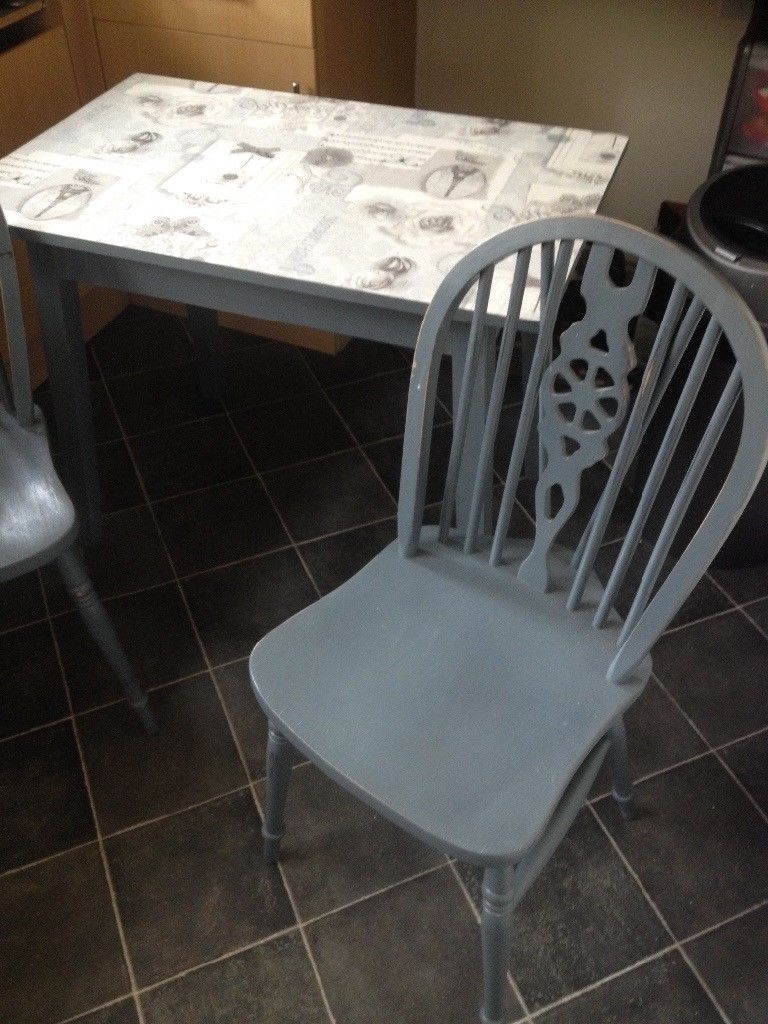Latest Small Two Person Dining Table Shabby Chic Custom (View 15 of 25)