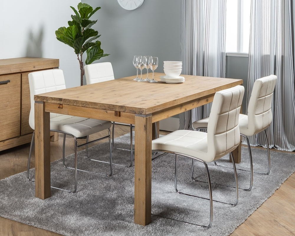 Latest Verona Dining Tables Within Verona Dining Table + 4 Hammel Dining Chairs – Dining Set (View 10 of 25)