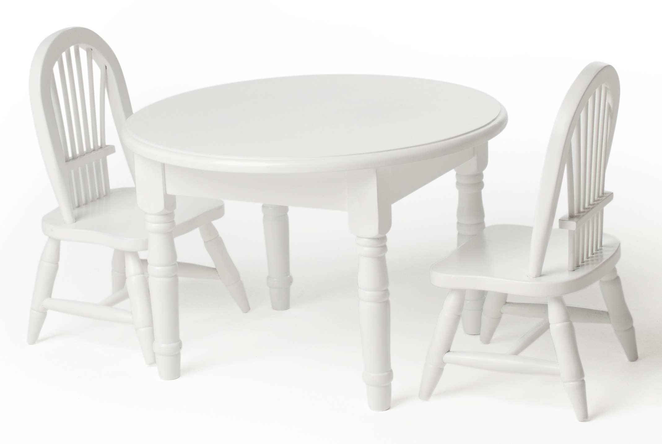 Lauren Doll's Doll Table And Chairs Wins A Pal Award Pertaining To Latest Laurent Round Dining Tables (View 4 of 25)