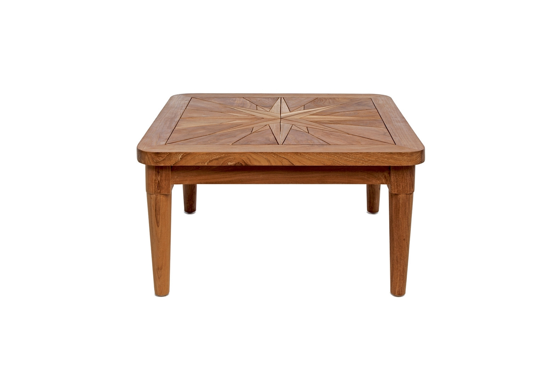 Laurent Rectangle Dining Tables Intended For Most Up To Date Square Side Table Mistral – Saint Laurent – Il Giardino Di Legno (View 11 of 25)