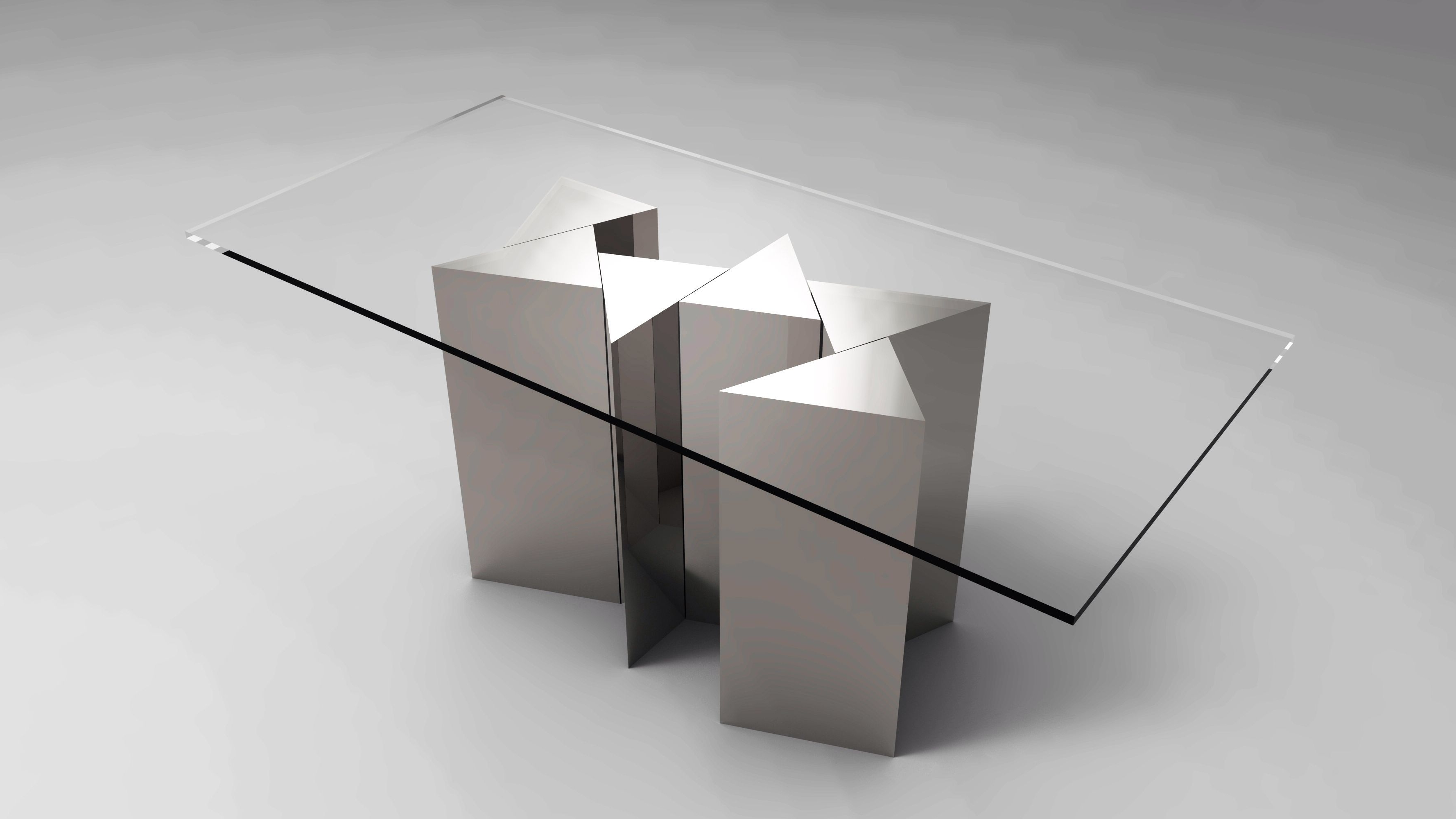 Laurent Rectangle Dining Tables Regarding Current Laurent Muller Jigsaw Dining Table (View 12 of 25)