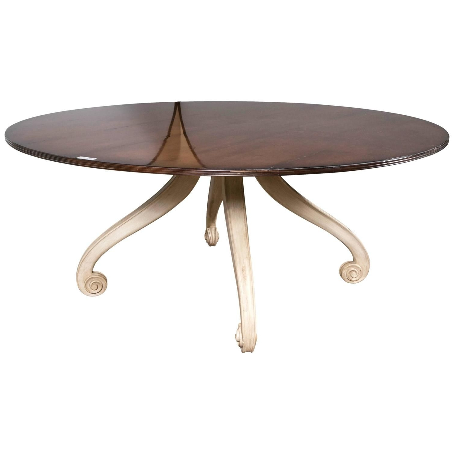 Laurent Round Dining Tables For Favorite Caroline Circular Dining Table (View 7 of 25)