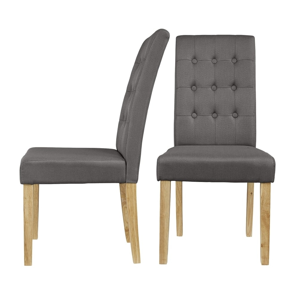 Leader Stores Pertaining To Grey Dining Chairs (View 12 of 25)