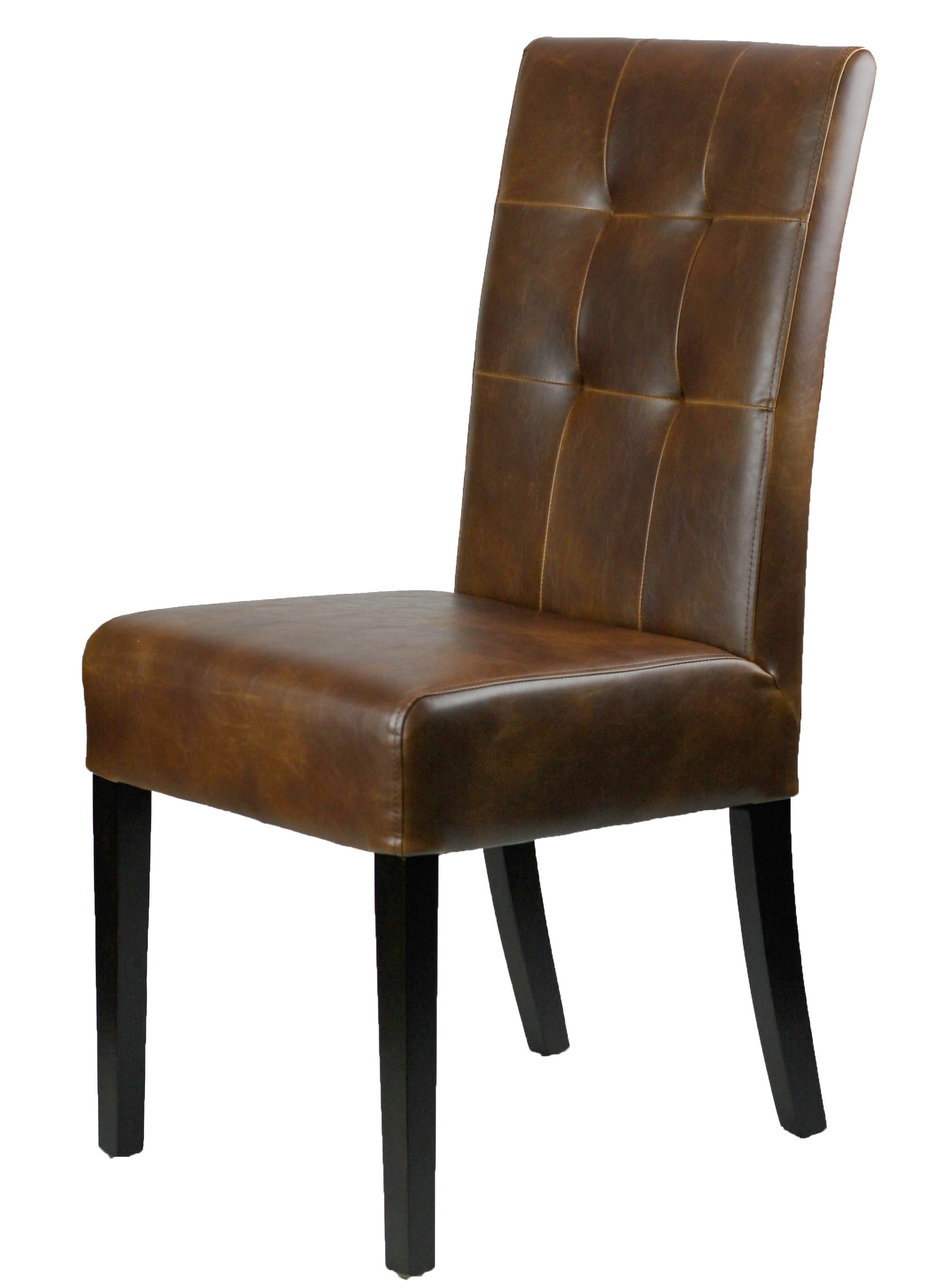Leather Parson, Dining Room & Kitchen Chairs :: On Sale! Distress Regarding Most Up To Date Brown Leather Dining Chairs (View 11 of 25)