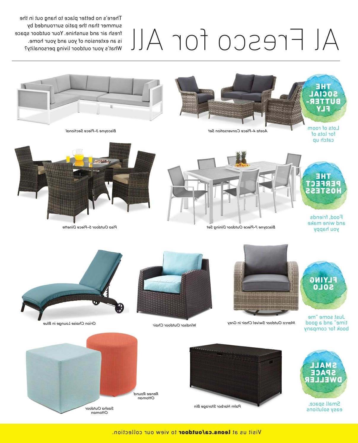 Leon's Furniture Hello Sunshine 2017Leon's Furniture – Issuu Inside Newest Leon 7 Piece Dining Sets (View 14 of 25)