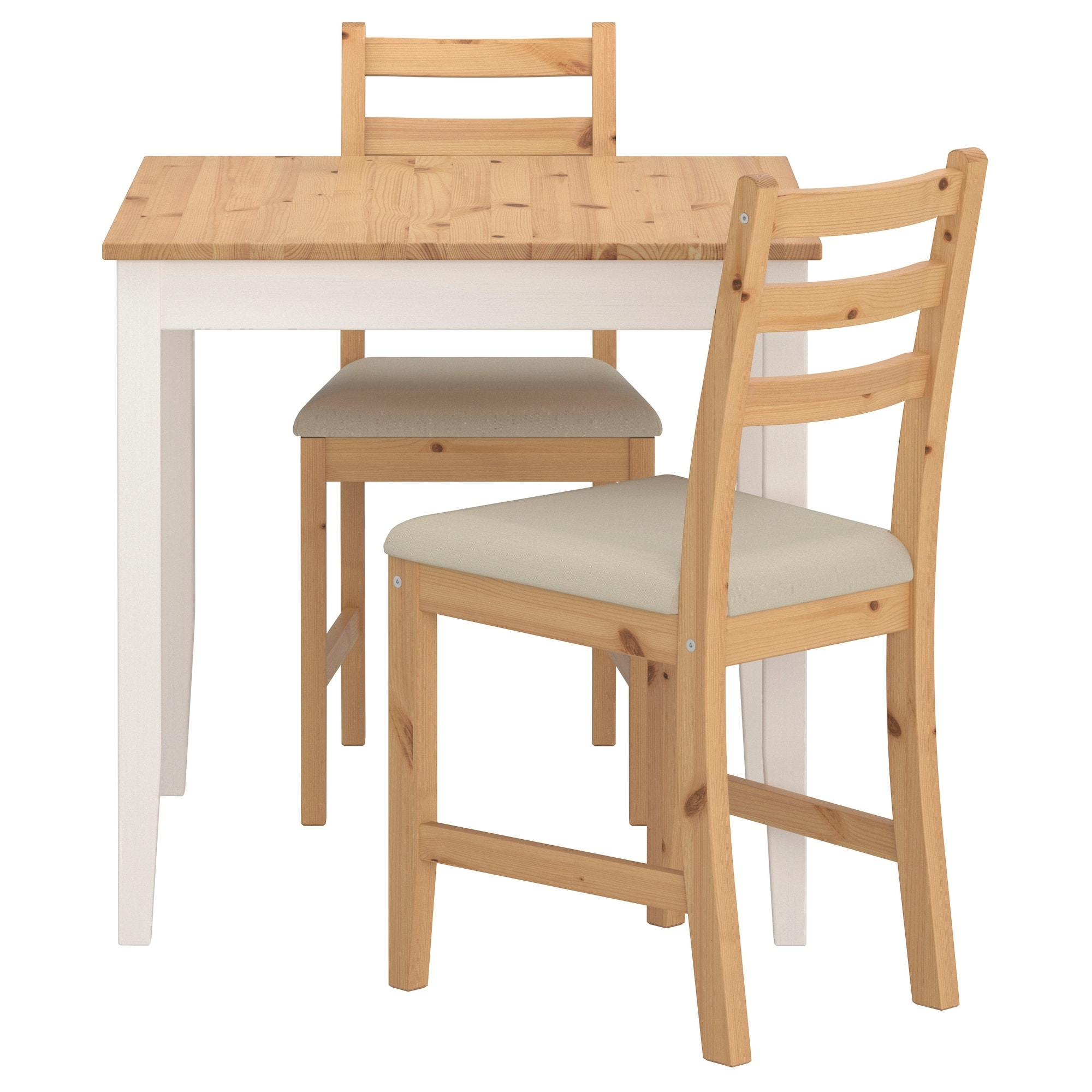 Lerhamn Table And 2 Chairs – Ikea Inside Well Liked Dining Sets (View 14 of 25)