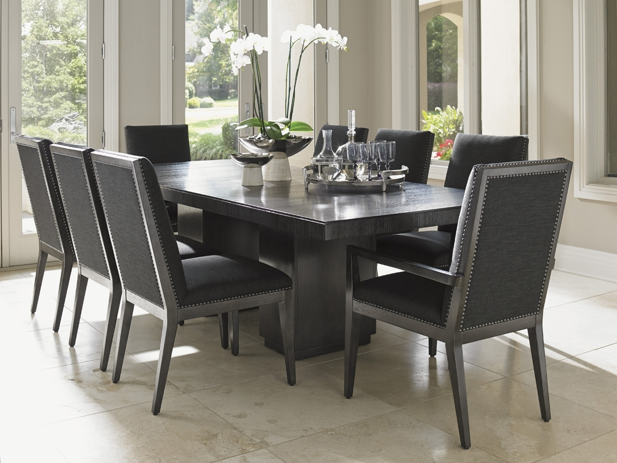 Lexington Home Brands For Pedestal Dining Tables And Chairs (View 11 of 25)