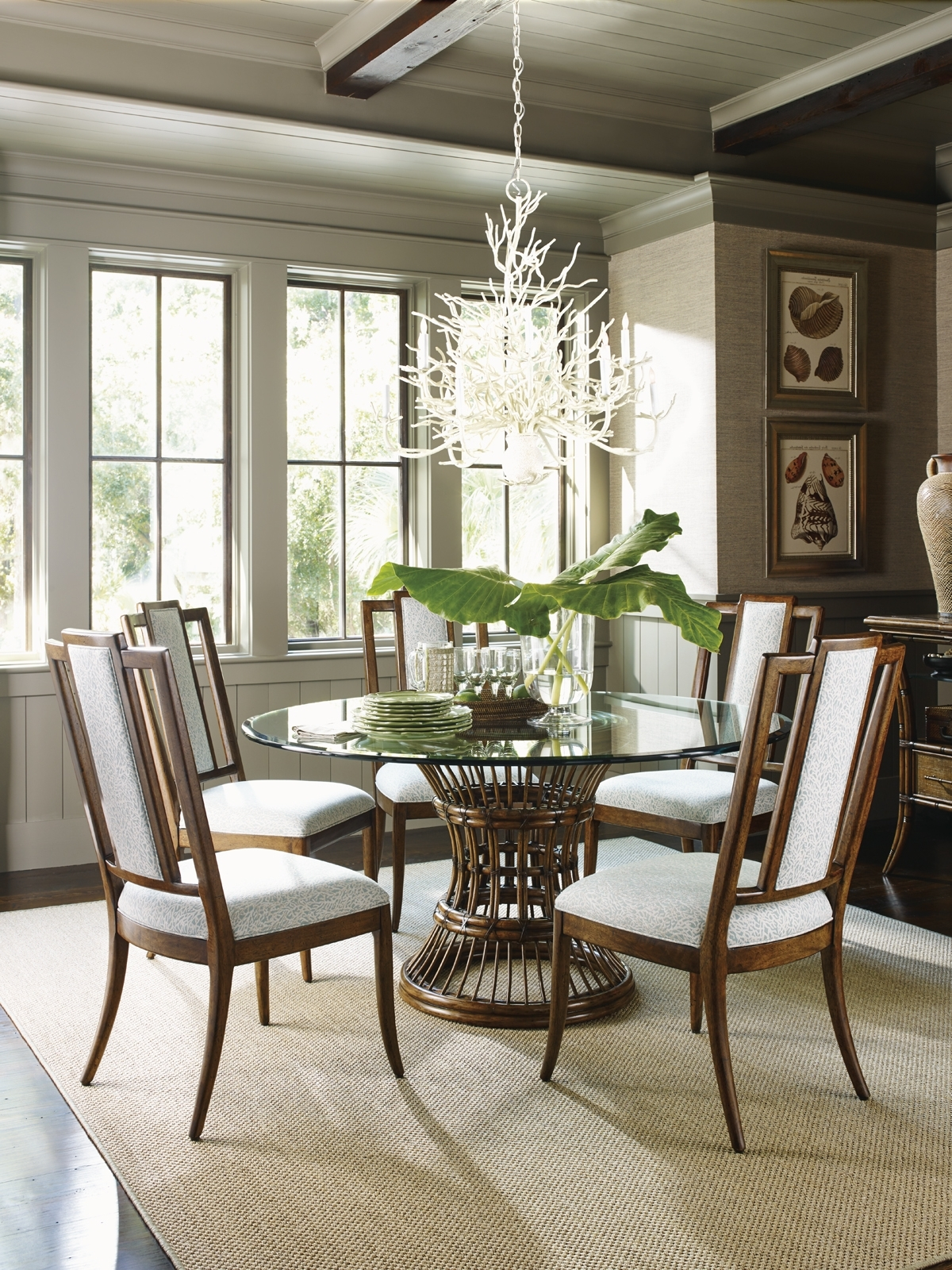 Lexington Home Brands Pertaining To Bali Dining Sets (View 15 of 25)