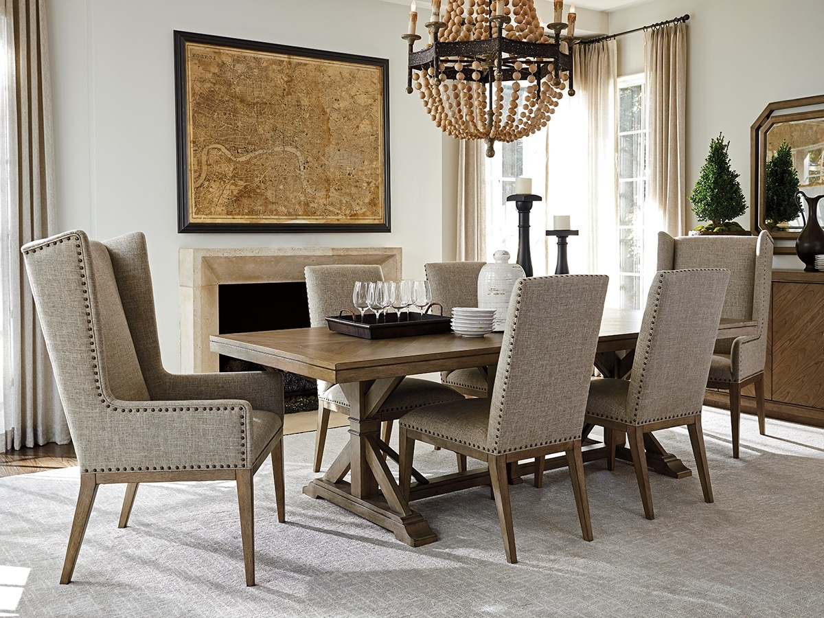 Lexington Pertaining To Pedestal Dining Tables And Chairs (View 12 of 25)