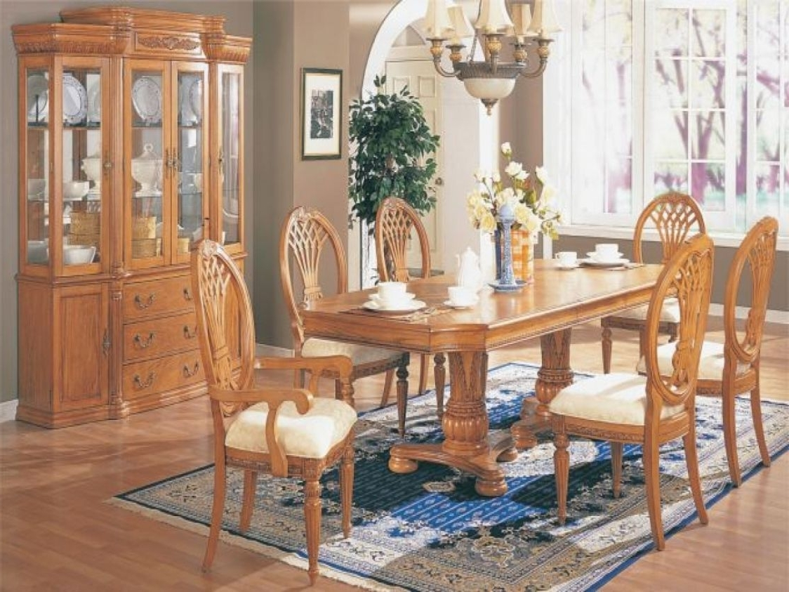 Light Oak Dining Room Furniture – Best Home Office Furniture Check With Regard To Well Liked Light Oak Dining Tables And Chairs (View 8 of 25)