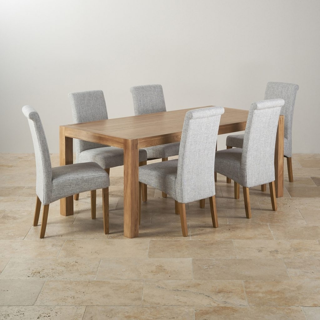 Light Oak Dining Tables And Chairs With Regard To Best And Newest Dining Room Chair : Bench Table And Chairs Country Dining Chairs (View 23 of 25)