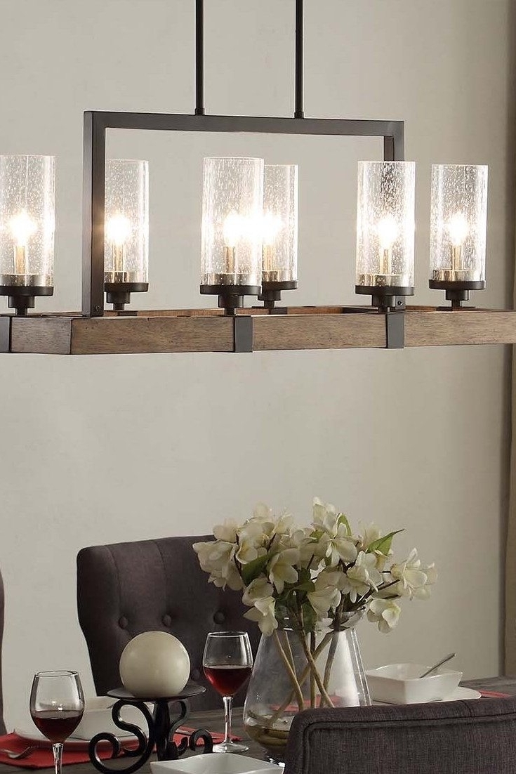 Lights For Dining Tables With 2018 Top 6 Light Fixtures For A Glowing Dining Room – Overstock (View 12 of 25)