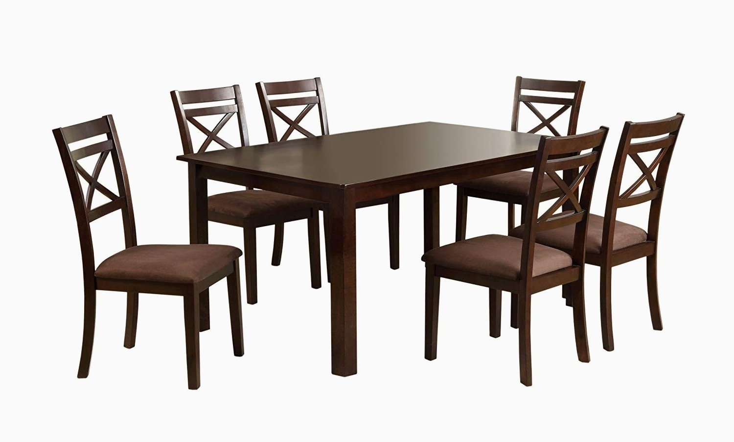 Lindy Espresso Rectangle Dining Tables In Trendy Encino Espresso Rectangular Dining Table – Dining Tables Ideas (View 11 of 25)