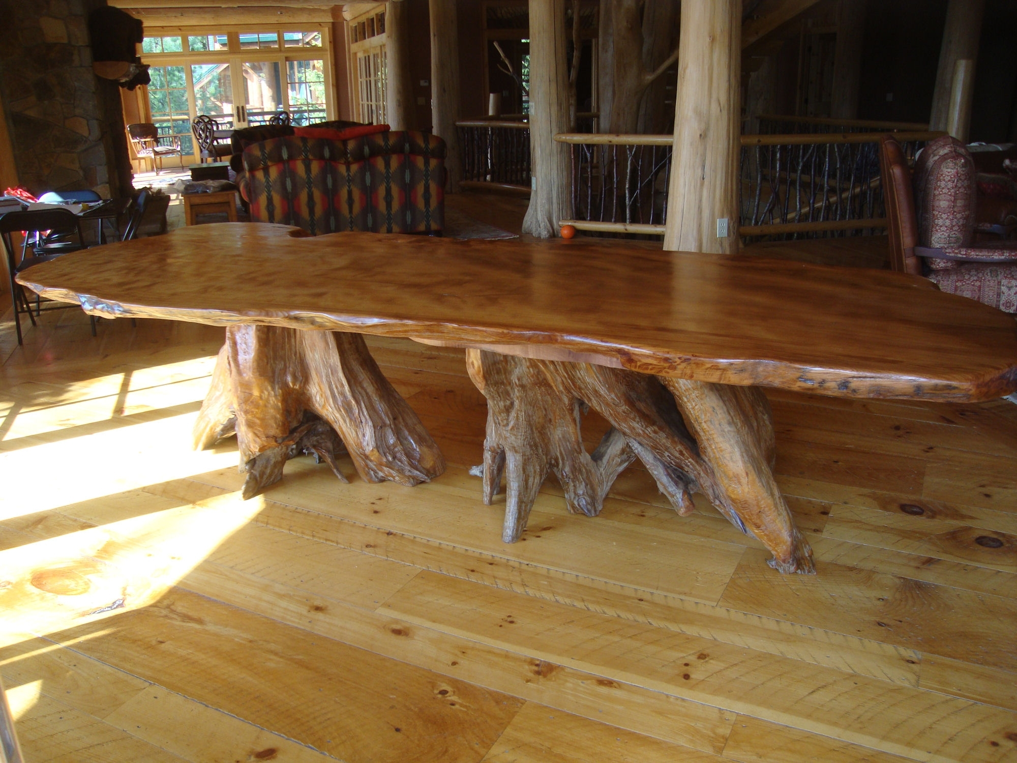 Littlebranch Farm With Regard To Tree Dining Tables (View 8 of 25)