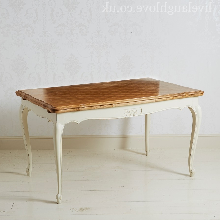 Live Laugh Love Pertaining To French Extending Dining Tables (View 19 of 25)
