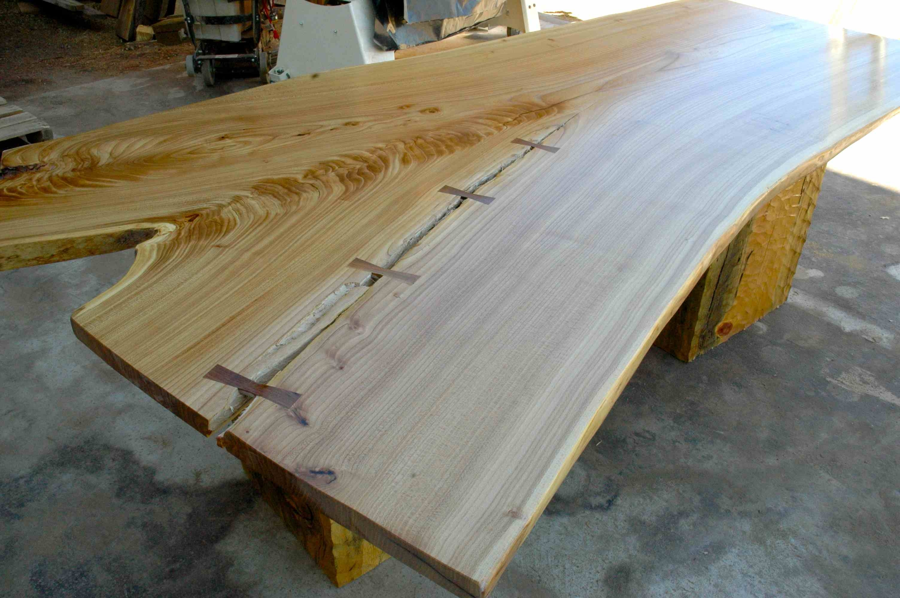 Live Natural Edge Wood Slabs (View 10 of 25)