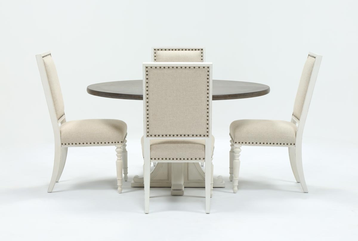 Featured Photo of Candice Ii Round Dining Tables