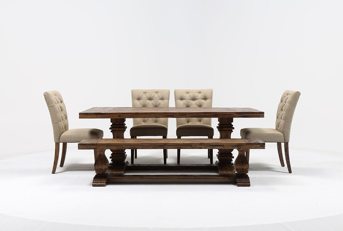 Featured Photo of Partridge 6 Piece Dining Sets