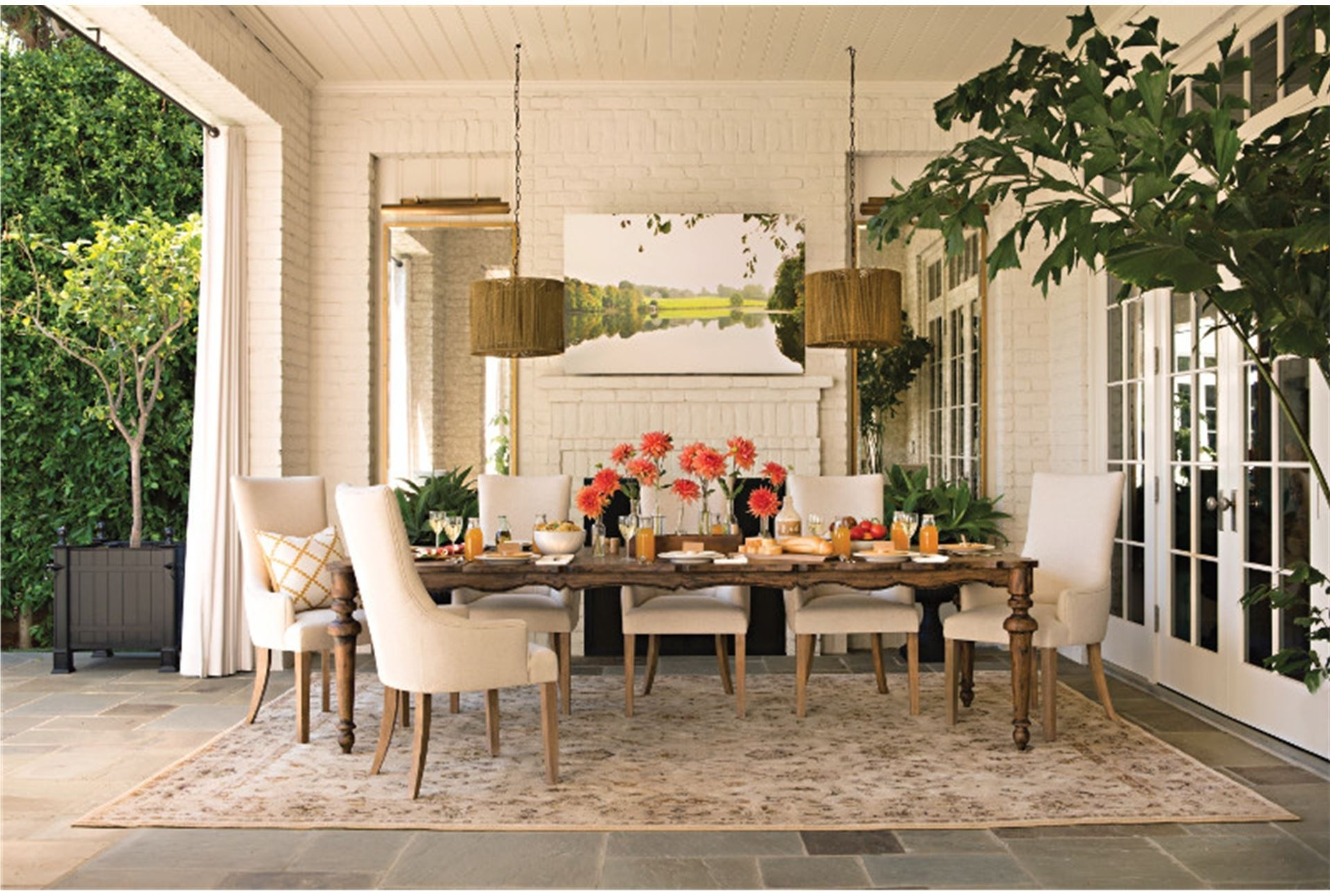 Living Spaces Dining Room Tables – Living Room Ideas Regarding Latest Norwood 9 Piece Rectangular Extension Dining Sets With Uph Side Chairs (View 11 of 25)