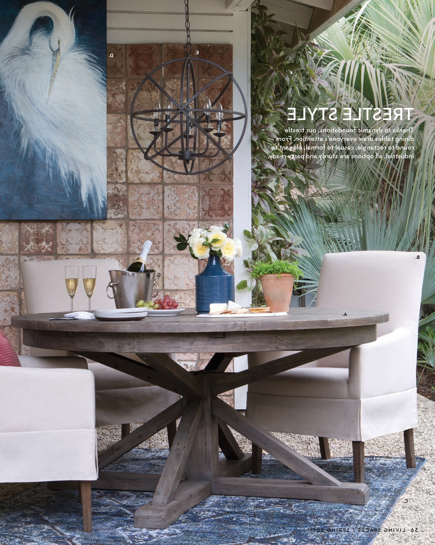 Living Spaces Dining Table – Dining Tables Ideas Pertaining To Well Known Combs Extension Dining Tables (View 4 of 25)