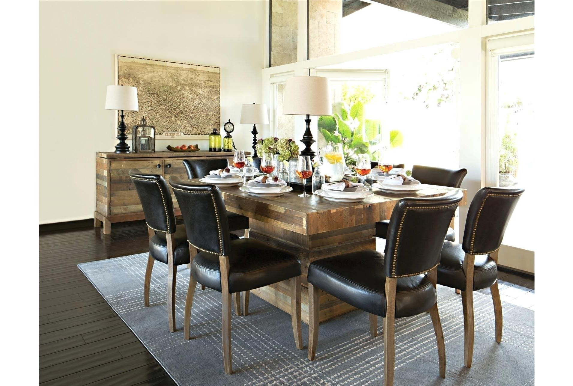 Living Spaces Dining Table Set (View 24 of 25)