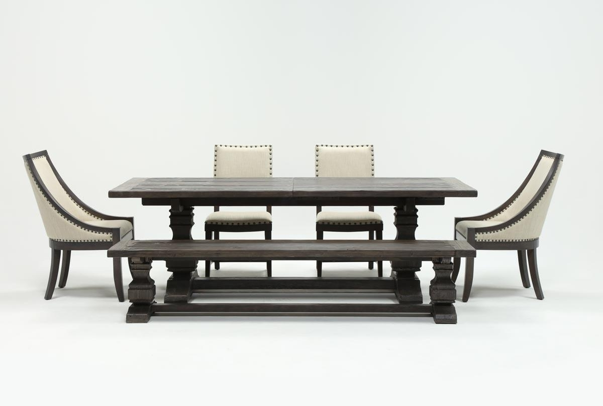 Living Spaces Pertaining To Favorite Norwood 9 Piece Rectangle Extension Dining Sets (View 9 of 25)