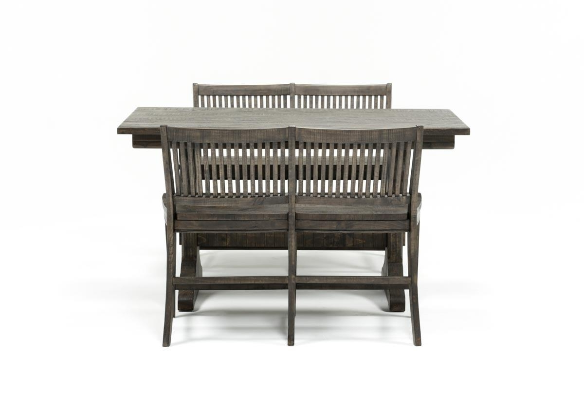 Living Spaces Pertaining To Valencia 4 Piece Counter Sets With Bench & Counterstool (View 13 of 25)